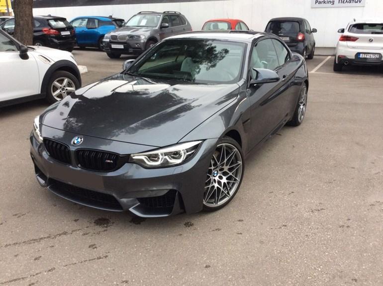 BMW M4 με 1.480 χλμ. Με λίγα λόγια σαν καινούργια. (πατήστε στην φωτογραφία να αναλυτικές πληροφορίες)