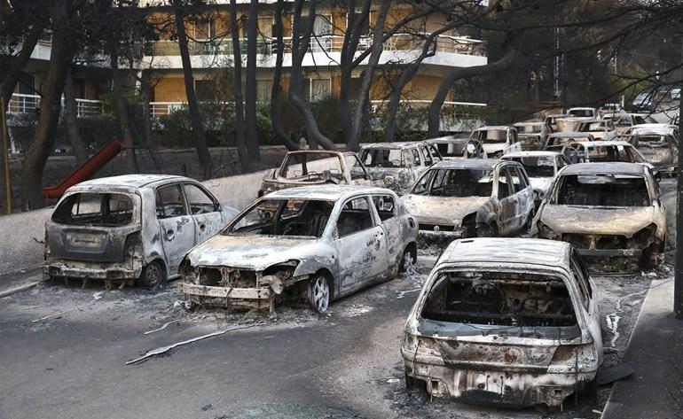 Δικαίωμα στην κλήρωση έχουν όσοι έχασαν το αυτοκίνητό τους στις καταστροφικές πυργαγιές στο Μάτι το περασμένο καλοκαίρι
