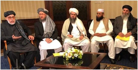 Μέλη του Πολιτικού Γραφείου των Ταλιμπάν στη Μόσχα