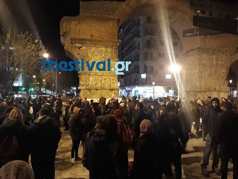 Θεσσαλονίκη: Πορεία εργαζομένων της ΒΙΟΜΕ και μελών επιτροπών κατά του χρυσού