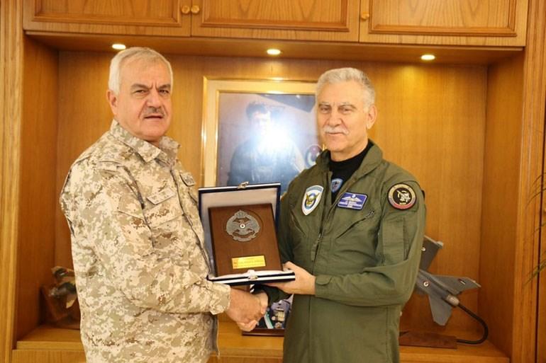 Επίσημη επίσκεψη του Αρχηγού της Πολεμικής Αεροπορίας στην Ιορδανία