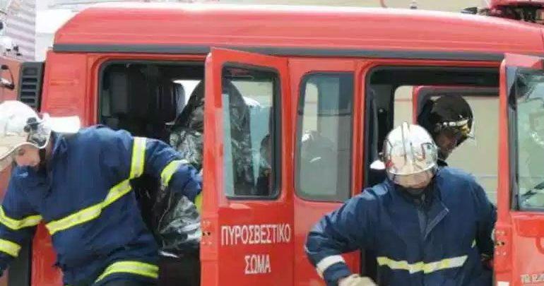 Πυρκαγιά σε διαμέρισμα στην Καλαμαριά - Απεγκλωβίστηκε γυναίκα