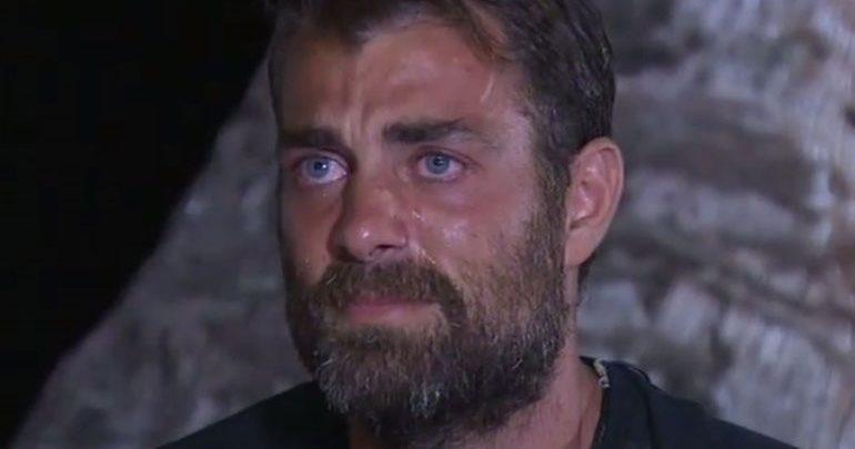 Nomads: Ξέσπασε σε κλάματα ο Στέλιος Χανταμπάκης όταν είδε τη γυναίκα του και τα παιδιά του