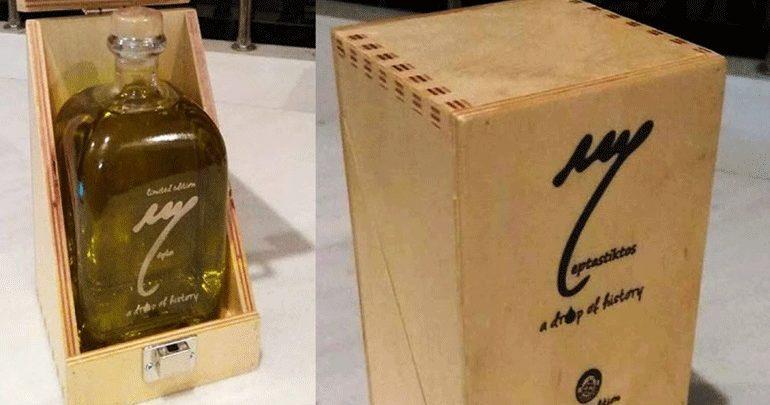 Πεντακόσια πενήντα ευρώ πουλήθηκε μισό λίτρο ελαιόλαδου από υπεραιωνόβιες ελιές της Ιεράπετρας