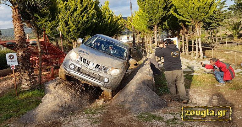 Ο Ντάνος σε πολύ άγριες δοκιμασίες με το Mitsubishi L200