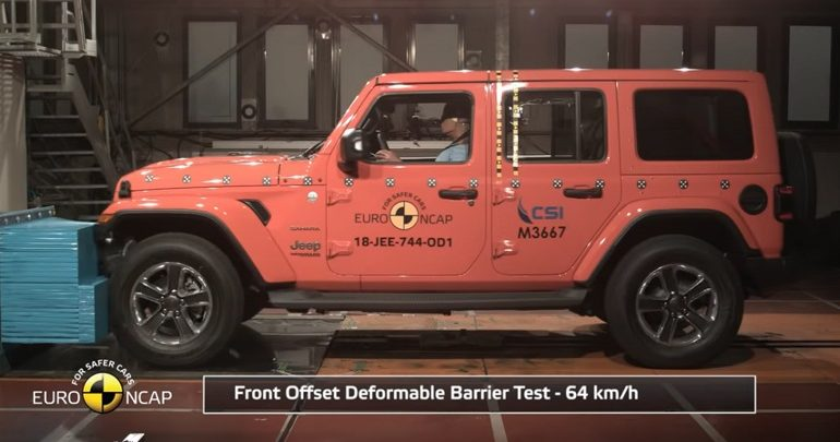 Απογοήτευσε το Jeep Wrangler στις δοκιμές του EuroNCAP