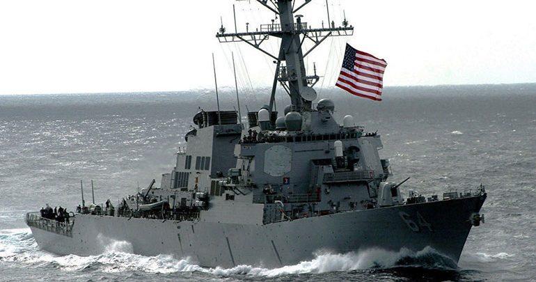 Το ρωσικό ναυτικό εντόπισε αμερικανικό αντιτορπιλικό στη θάλασσα της Ιαπωνίας