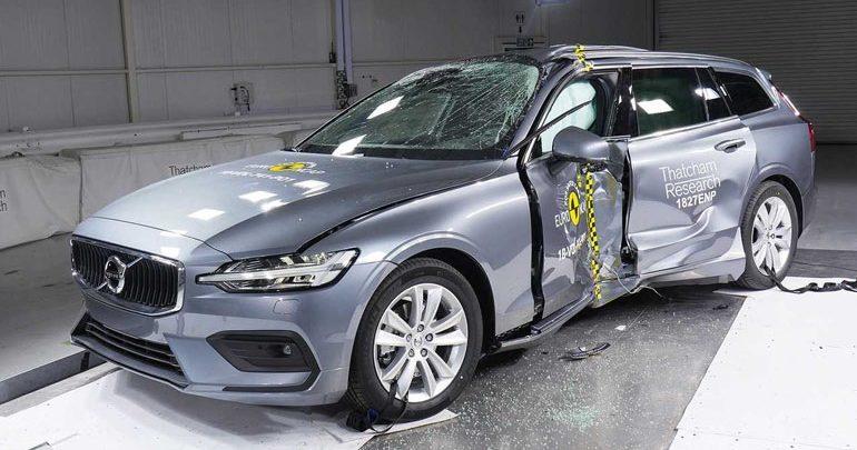 Τα Volvo S60 και V60 βαθμολογήθηκαν με 96% στην ασφάλεια επιβατών