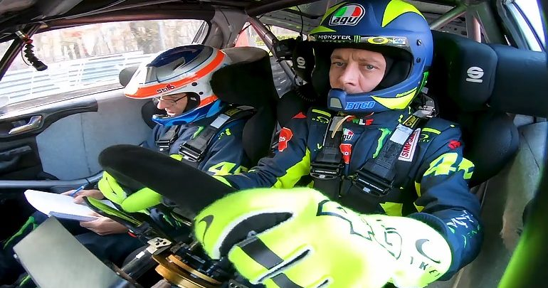 Θρίαμβος  Valentino Rossi στο Monza Rally Show