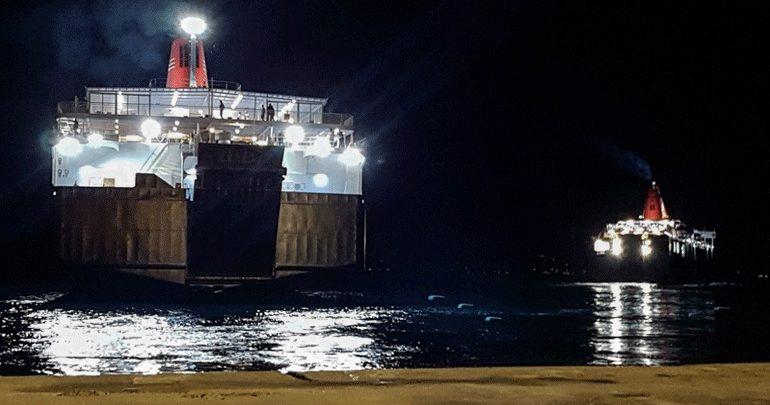Αποκαταστάθηκε η μηχανική βλάβη στο πλοίο « Νήσος Σάμος»