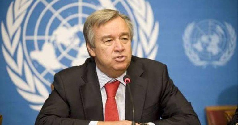 Γκουτέρες: Η συμφωνία Ελλάδας - πΓΔΜ παράδειγμα επίλυσης ειρηνικών διαφορών