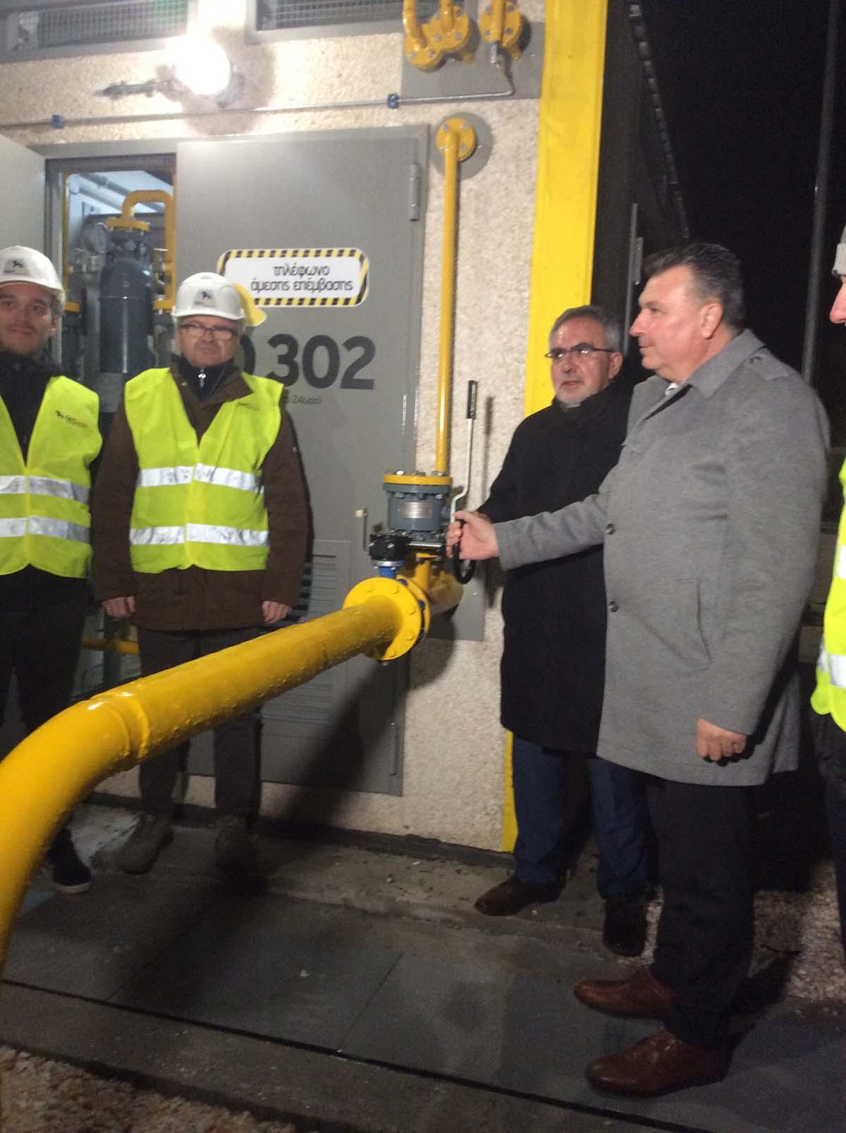 Και στα ορεινά έχουν δικαίωμα χρήσης φυσικού αερίου χάρη στην ΕΔΑ ΘΕΣΣ -Μαζί με το πρώτο χιόνι, ήρθε το φυσικό αέριο στην Ελασσόνα