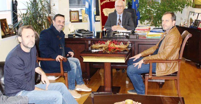 Συνάντηση δημάρχου με τον οργανωτικό γραμματέα του Ποταμιού