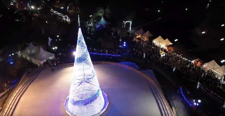 """""""Μαγικό"""" βίντεο: Δείτε το Πάρκο των Ευχών της Λάρισας από ψηλά!"""