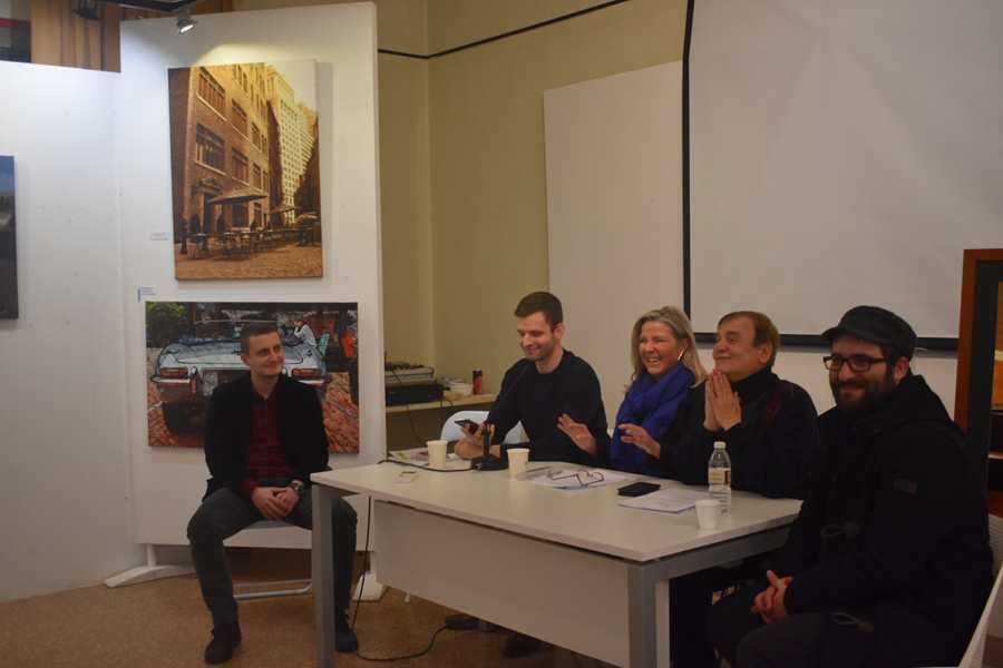 Τον βραβευμένο Κροάτη ποιητή ΓκόρανΤσολακχότζιτς γνώρισε το κοινό της Λάρισας σε μια ειδυλλιακή βραδιά