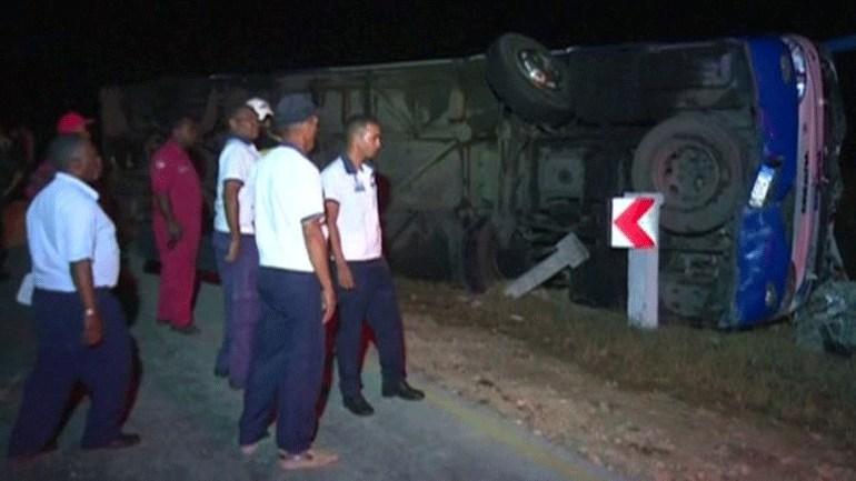 Κούβα: Τροχαίο δυστύχημα τουριστικού λεωφορείου με επτά νεκρούς και δεκάδες τραυματίες