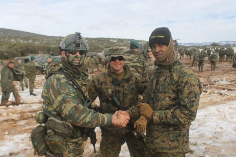 Έλληνες και Αμερικάνοι πεζοναύτες  στην άσκηση με πραγματικά πυρά «ΜΕΓΑΣ ΑΛΕΞΑΝΔΡΟΣ - 2019»