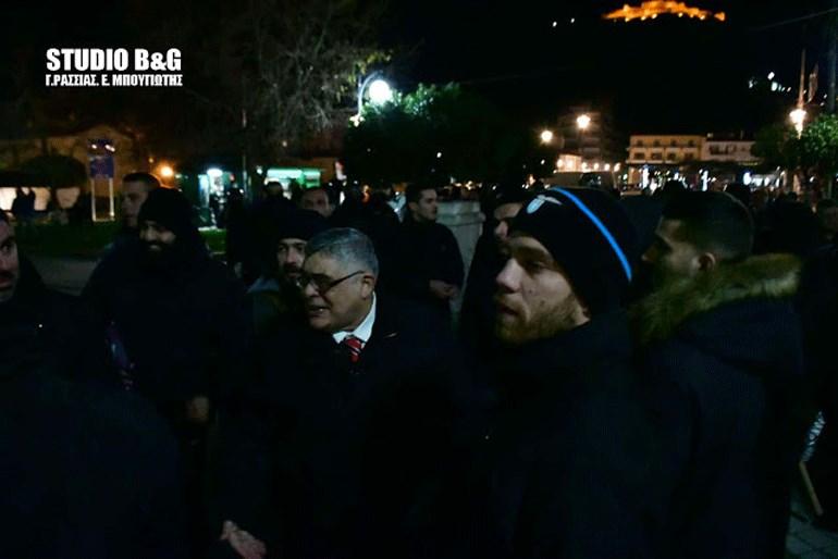 Άργος: Ένταση σε εκδήλωση της «Χρυσής Αυγής»