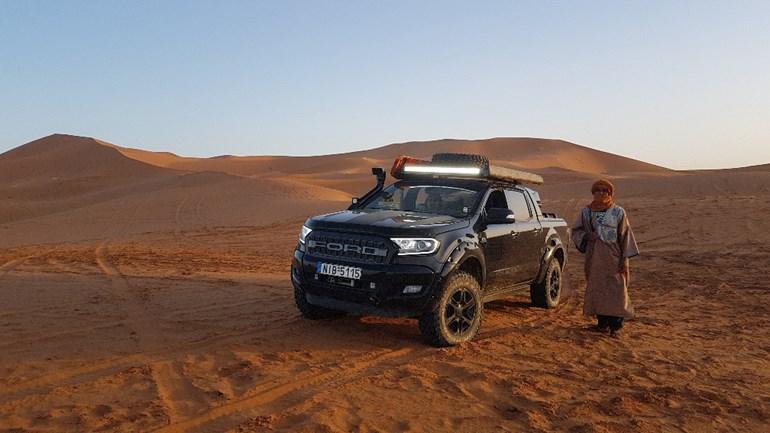 Το συγκεκριμένο Ranger έχει ταξιδέψει μέχρι το Μαρόκο