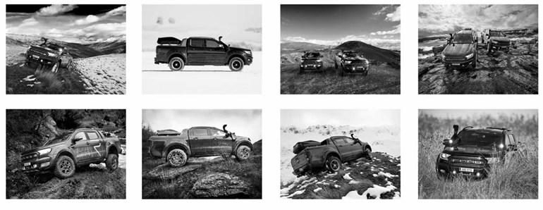 Ένα Ford Ranger διαφορετικό από τα άλλα...