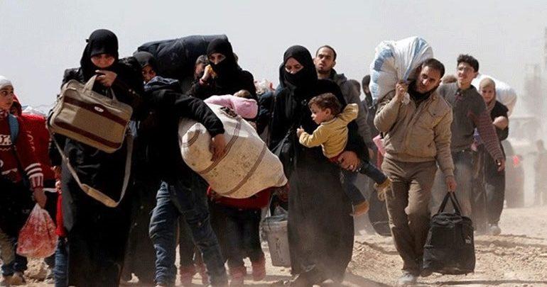 ΟΗΕ: 25.000 εκτοπισμένοι  σε έξι μήνες από τις μάχες στην ανατολική Συρία