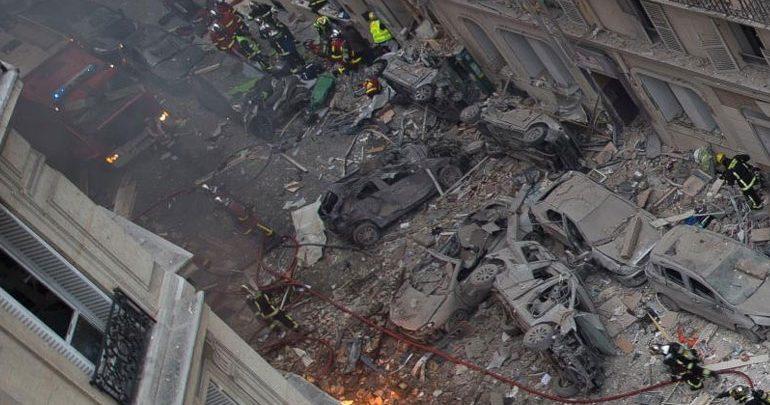 Ένας αγνοούμενος από την έκρηξη σε αρτοποιείο στο κέντρο του Παρισιού