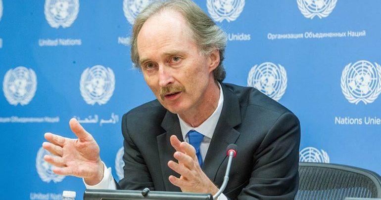 Στη Δαμασκό ο νέος απεσταλμένος του ΟΗΕ για τη Συρία
