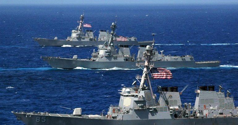 O αρχηγός του ναυτικού των ΗΠΑ στην Κίνα