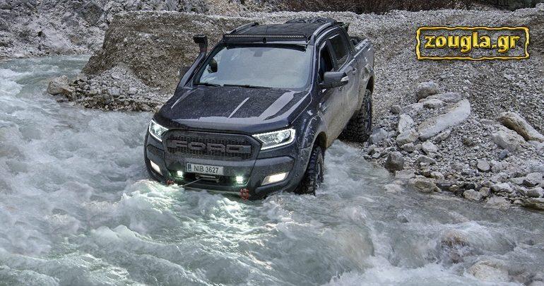 Το Ford Ranger στο φυσικό του περιβάλλον...