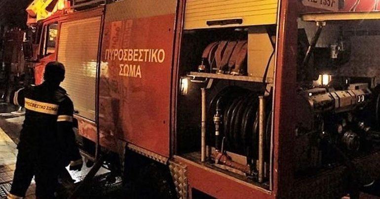 Ένας νεκρός από πυρκαγιά σε διαμέρισμα στη Θεσσαλονίκη