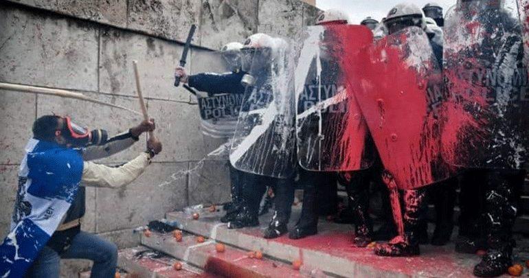 Ένωση Αστυνομικών για επεισόδια: «Να τελειώνουν τα πολιτικά παιχνίδια στην πλάτη μας»