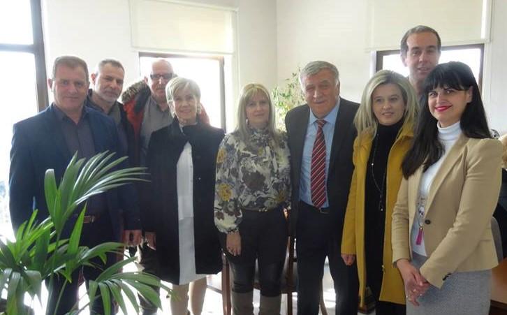 Με ευχές για την ονομαστική του εορτή γέμισε το γραφείο του Δημάρχου Κιλελέρ
