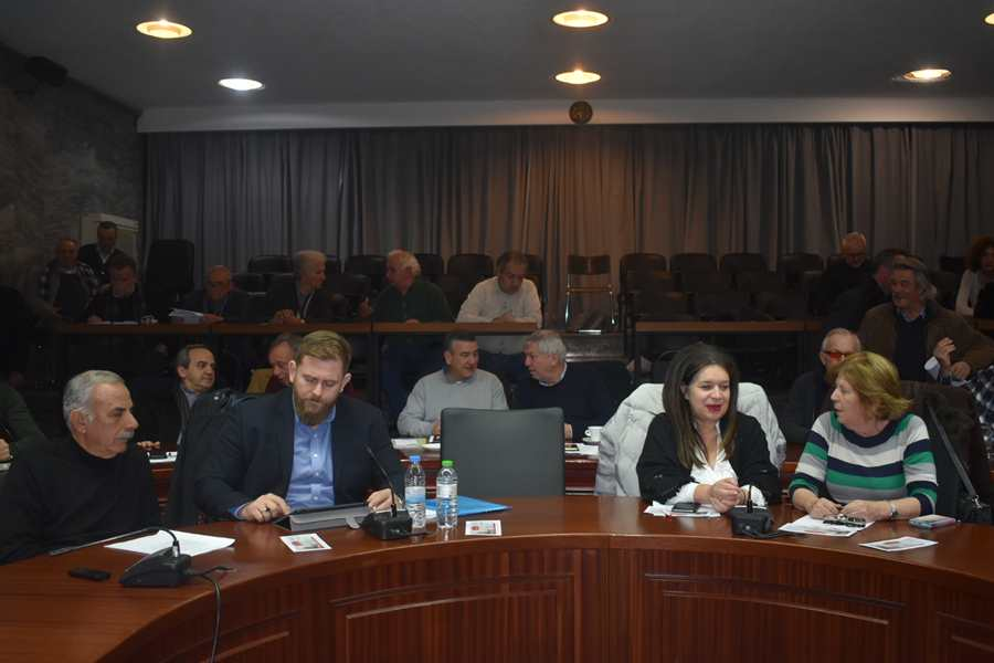 Ενημέρωση Καλογιάννη για Υπερταμείο και ΤΕΙ Θεσσαλίας στο Δημοτικό Συμβούλιο