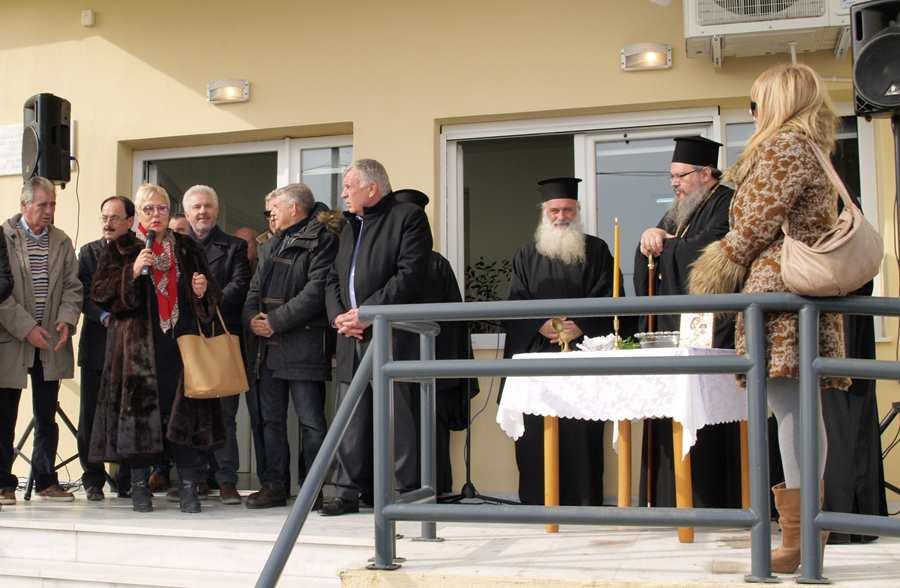 Εγκαινιάστηκε το Περιφερειακό Ιατρείο Αρμενίου παρουσία του Ιερώνυμου (φωτο)