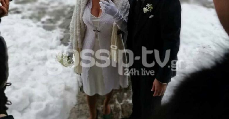 Μυστικός γάμος στο Πήλιο μέσα στα χιόνια