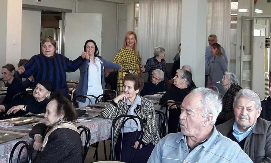 Γιορτή για την τρίτη ηλικία στο Γηροκομείο Λάρισας