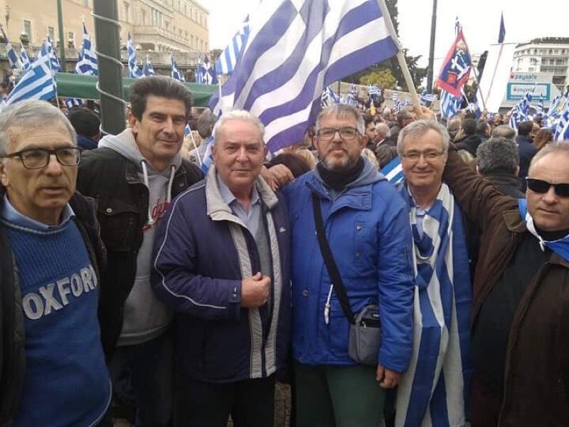 «Κάθοδος» Λαρισαίων στο συλλαλητήριο στο Σύνταγμα στην Αθήνα για τη Μακεδονία (φωτο-βίντεο)