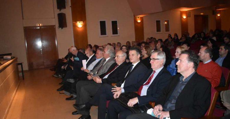 Εξαιρετικό ενδιαφέρον παρουσίασε η εκδήλωση «Λαρισαίοι ασθενείς του Ιπποκράτη» στο ΔΩΛ (φωτο)