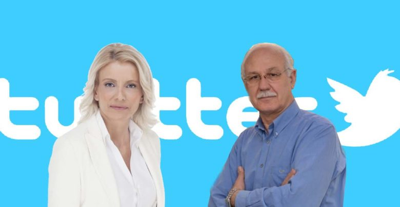 """Προεκλογική μάχη α λα social media στη Λάρισα: """"Πόλεμος"""" στο twitter μεταξύ Καλογιάννη και Καραλαριώτου"""