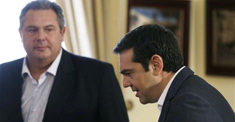 Τελεσίγραφο Καμμένου σε Τσίπρα: «Διώξε τώρα τους υπουργούς των ΑΝΕΛ»
