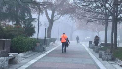 """Με πυκνή ομίχλη """"ξύπνησε"""" τη Δευτέρα η Λάρισα - Δείτε την πρόγνωση του καιρού (φωτό)"""