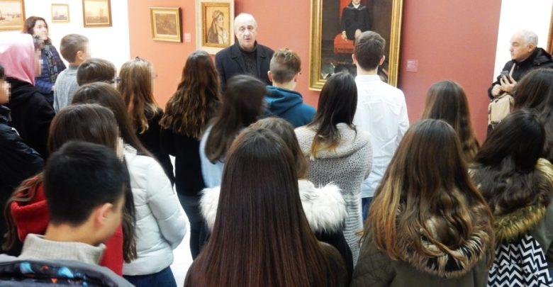 Πραγματοποιήθηκε η τελευταία ξενάγηση στη Μόνιμη Συλλογή Κατσίγρα στο πλαίσιο του προγράμματος Erasmus+