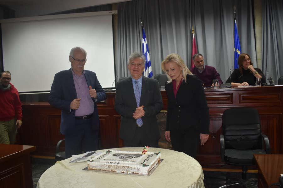 Άφαντο το φλουρί στην πίτα του Δημοτικού Συμβουλίου Λάρισας…