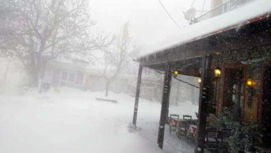 Εντυπωσιακές εικόνες και βίντεο από χιονοθύελλα στη Σπηλιά