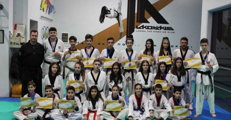 15 μετάλλια για το «Larissa Taekwondo Club»
