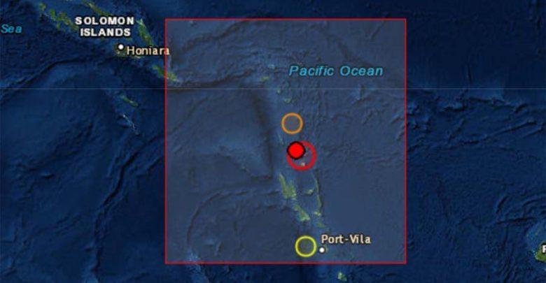 Σεισμός 6,6R στα νησιά Βανουάτου - Προειδοποίηση για τσουνάμι