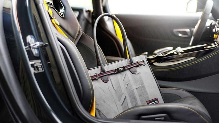 Τσάντες με την υπογραφή του ελαστικού της Mercedes-AMG GT R