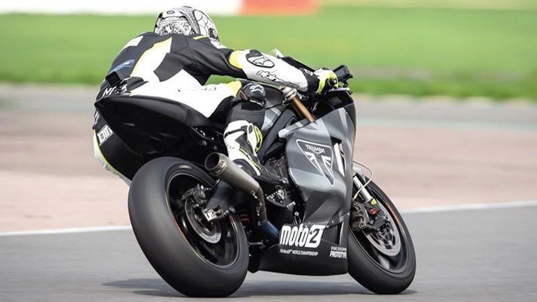 Triumph Moto2: To oδηγεί σε αποκλειστικότητα ο Δημήτρης Διατσίδης