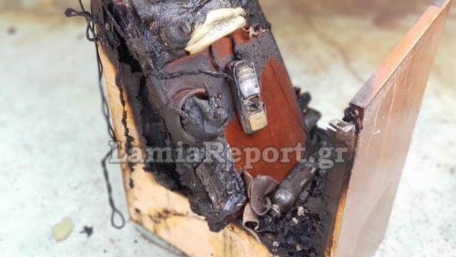 Παρανάλωμα του πυρός έγινε σπίτι στη Λαμία από… έκρηξη κινητού