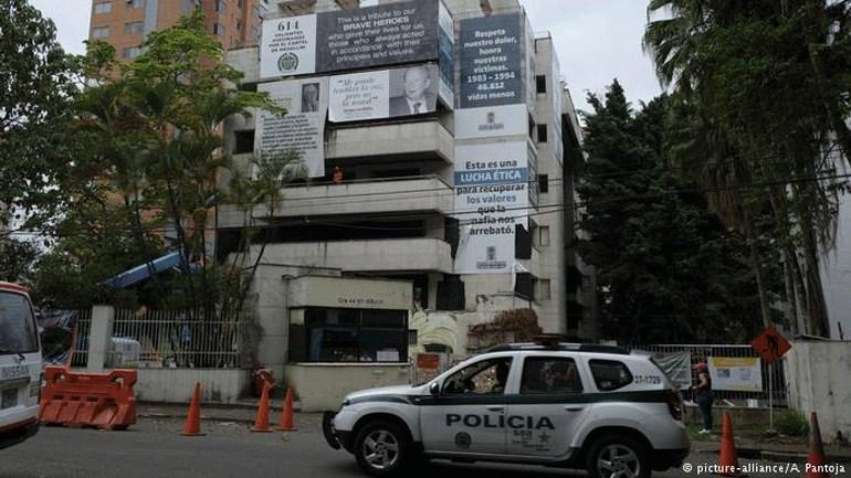 Κατεδαφίστηκε με δυναμίτη το πολυτελές «φρούριο» του Εσκομπάρ στην Κολομβία